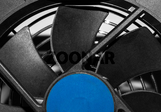 Cooling fan close up