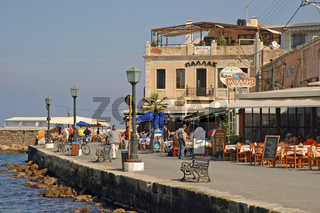 Uferpromenade in Chania, Kreta