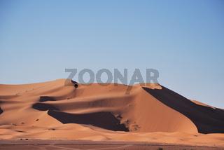 Sanddünen, Erg Chebbi, Marokko, Afrika