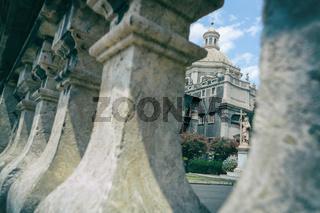 Photos of individual parts of the Cathedral of Saint Agatha