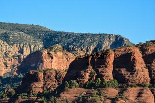 Towering landscape in Sedona Arizona