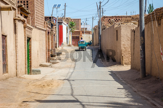 Local street in Turpan, China