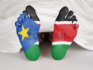 Dead body - South Sudan