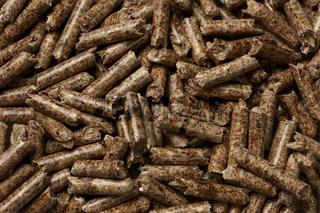 Wood Pellets Closeup