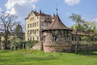 Schloss Hummelstein in Nuernberg, Deutschland
