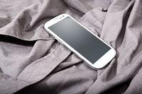 Smartphone on a shirt