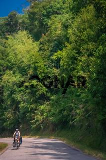 Cycling through northern Laos