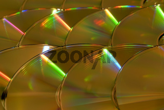 Background from CD disks