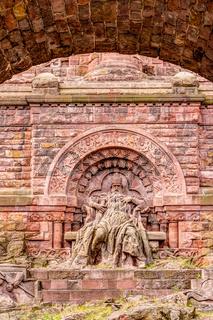 Kaiser-Wilhelm-Denkmal im Kyffhäusergebirge - Kyffhäuserdenkmal (Barbarossadenkmal)