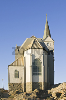 Felsenkirche in Luederitz, Namibia, Afrika, Felsenkirche, Church on Rocks, Africa