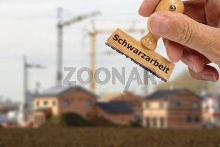 Schwarzbau und Baustelle