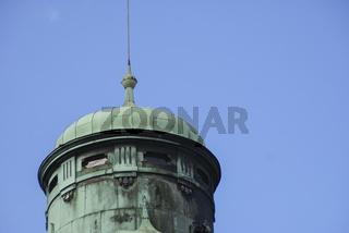 Historischer Turm in Bamberg, Bayern, Deutschland