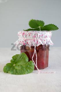Rhabarber-Erdbeer-Marmelade