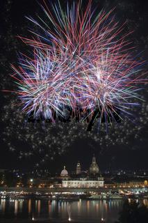 Firework at Dresden