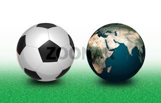 Football and Earth