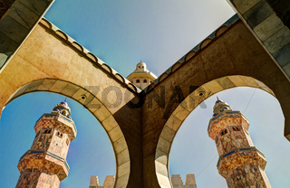 Touba Mosque, center of Mouridism , Senegal