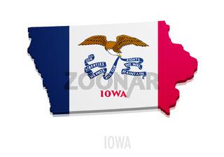 map State of Iowa