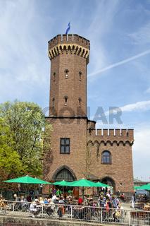 Malakoff-Turm am Rheinauhafen, Köln
