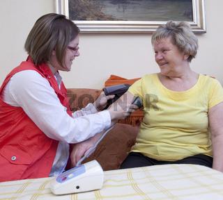 Soziale Betreuung der Senioren
