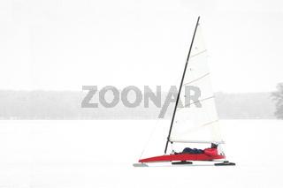 Eissegeln - Ice yachting