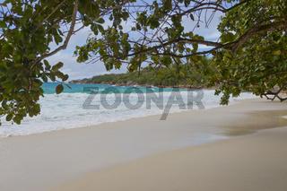 Traumstrand auf den Seychellen, Dream beach on Seychelles