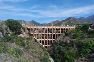 El Aguila aqueduct, Andalusien