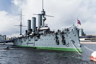 Aurora cruiser museum, Saint-Petersburg, Russia