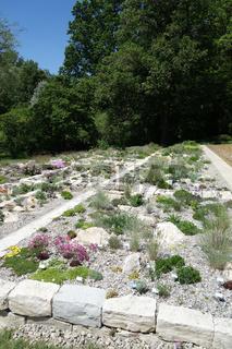 Steingarten, Trockenmauer, rock garden, drywall