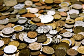 geld, kleingeld, hartgeld