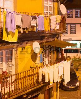 Porto Old Town scene