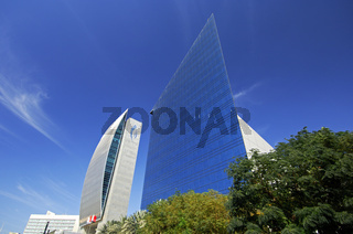 Futuristische Architektur in Dubai