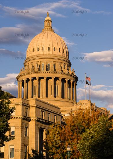 Boise Idaho Capital City Downtown Capitol Building Legislative Center