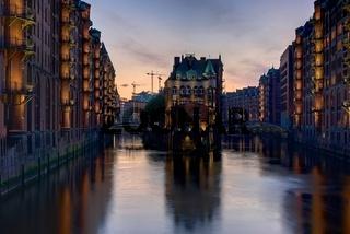 Wasserschloesschen Speicherstadt Hamburg