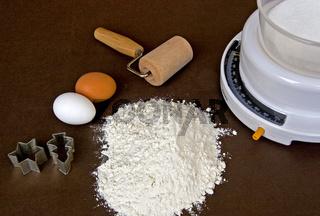 Zutaten und Arbeitsmaterialien / Baking pastries