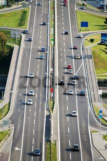 Slowakei, Bratislava, Stadtautobahn