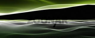 Fantastic elegant eco panorama background design illustration