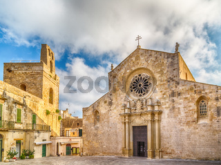 The Cathedral in historic center of Otranto