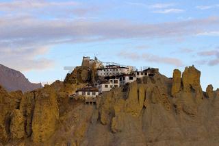 Himachal Settlements at Badlands of Spiti. Himachal Pradesh