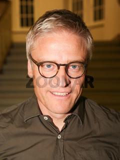 Dr.Tankred Söbe (Mitglied des Internationalen Vorstandes von Me`decins sans frontie`res und ehemaliger Präsident von Ärzte ohne Grenzen Deutschland) während der Podiumsdiskussion zum Thema EU - Türkei - Abkommen am 26.09.2016  in Magdeburg