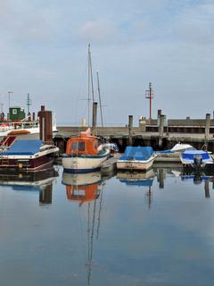 Ruhe im Lister Hafen