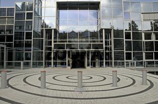 Verwaltungsgebäude der Zweirad Einkaufs-Genossenschaft EG (ZEG) in Köln, Nordrhein-Westfalen, Deutschland, Europa