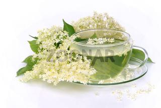 Tee Holunderblüte