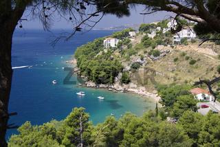 Bucht bei Stanici, Kroatien
