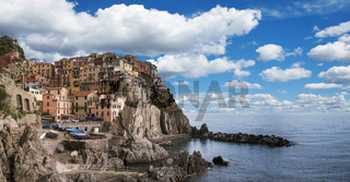Village of Monterosso al Mare, Cinque Terre, Italy