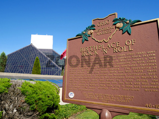 Rock and Roll Hall of Fame,Cleveland,Ohio,USA
