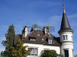 Historische Villa Sonnegg von 1901,Schaffhausen,Schweiz