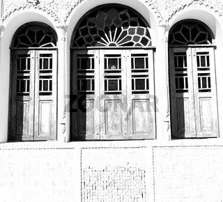 in iran  the old   architecture window
