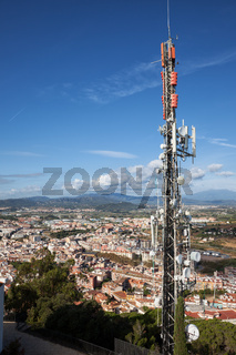 Communication Tower and Radio Mast in Spain