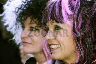 Hollywood-Kostümparty - Nina Hagen / Glenn Close -  Hexe Cruella DeVil