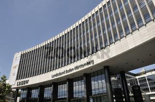 Hauptsitz der Landesbank Baden Württemberg, Stuttgart, Baden-Württemberg, Deutschland, Europa